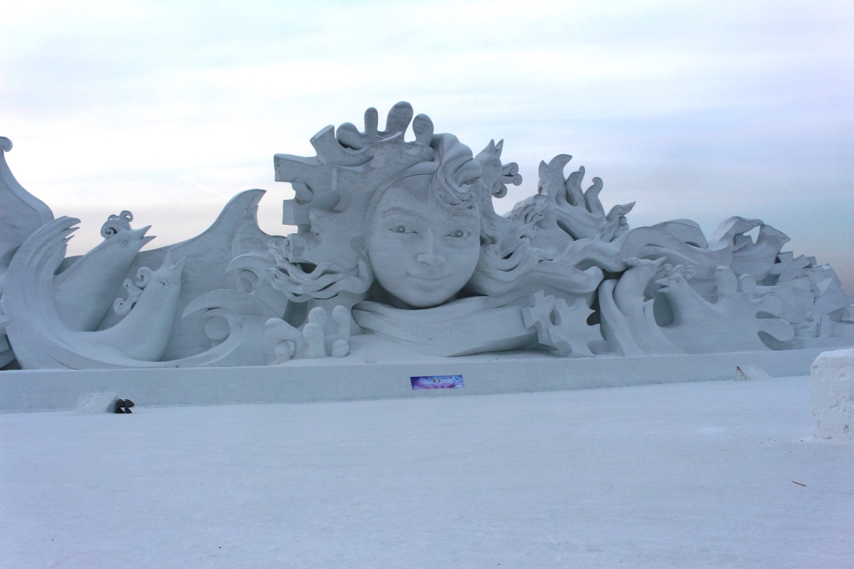 Harbin, the magic of ice and snow art