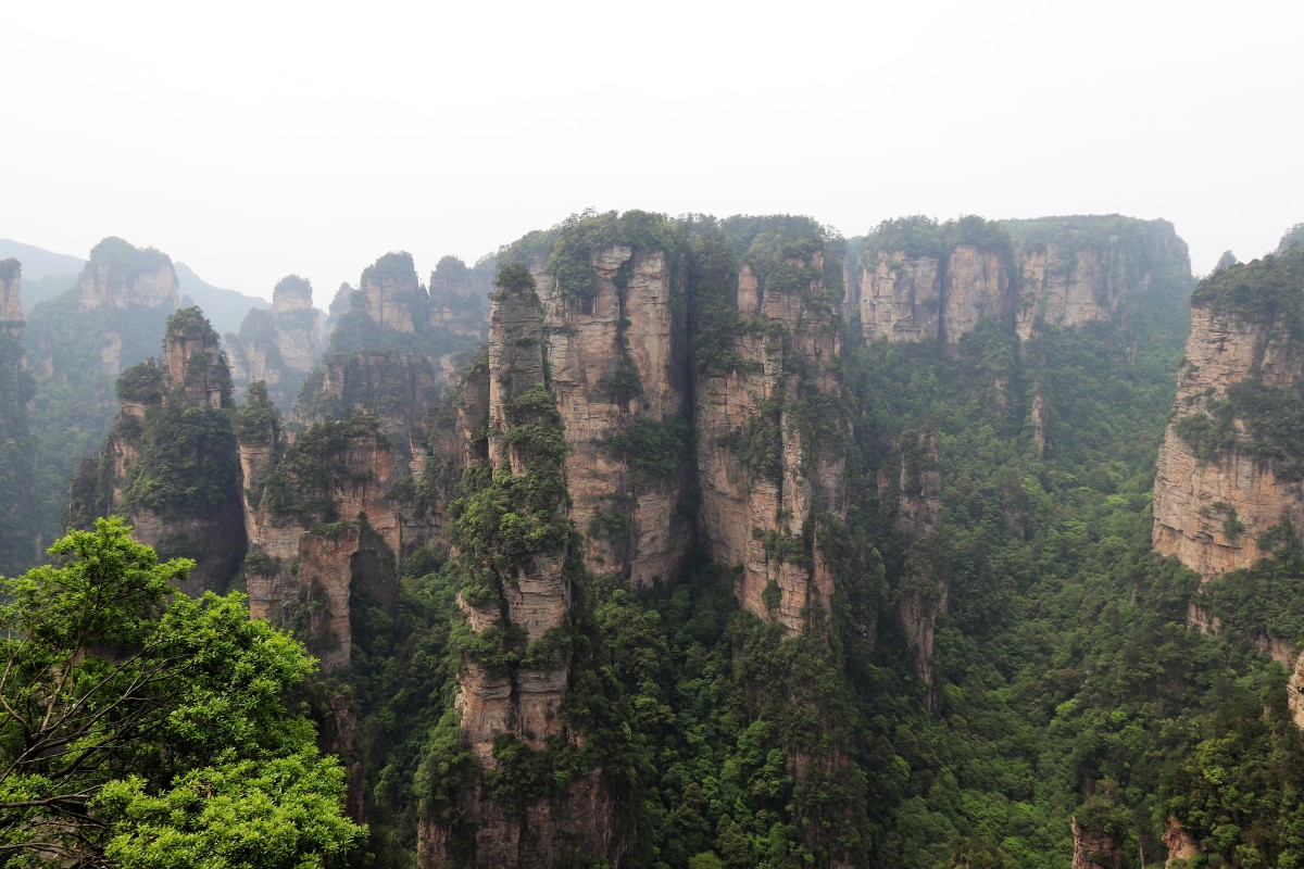 "A dream trip to Zhangjiajie, the ""Avatar mountains"""